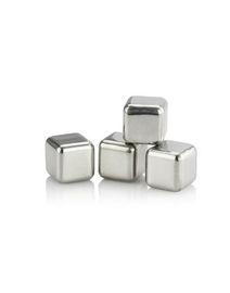 Ice Cubes Stainless 4 pcs