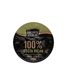 100% Costa Rican - Brown Gold - Doux