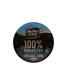 100% Brazilian - Brown Gold - Bold